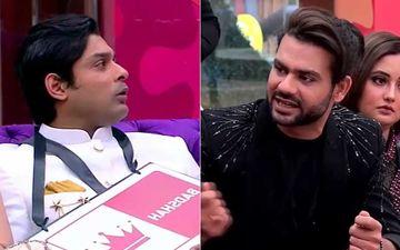 Bigg Boss 13: Hina Khan's Entry Sees Vishal Aditya Singh Get Nasty With Sidharth Shukla; 'Tere Muh Nahi Lagna, Tu Gadha Hai'