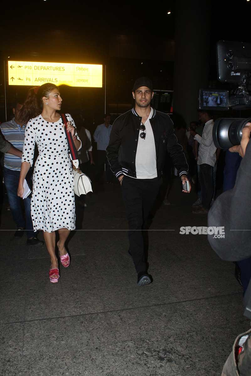 sidharth and jacqueline spotted together