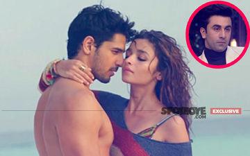 Colour-Coordinated Alia Bhatt & Sidharth Malhotra Kiss & Make Up, Ranbir Was Round The Corner