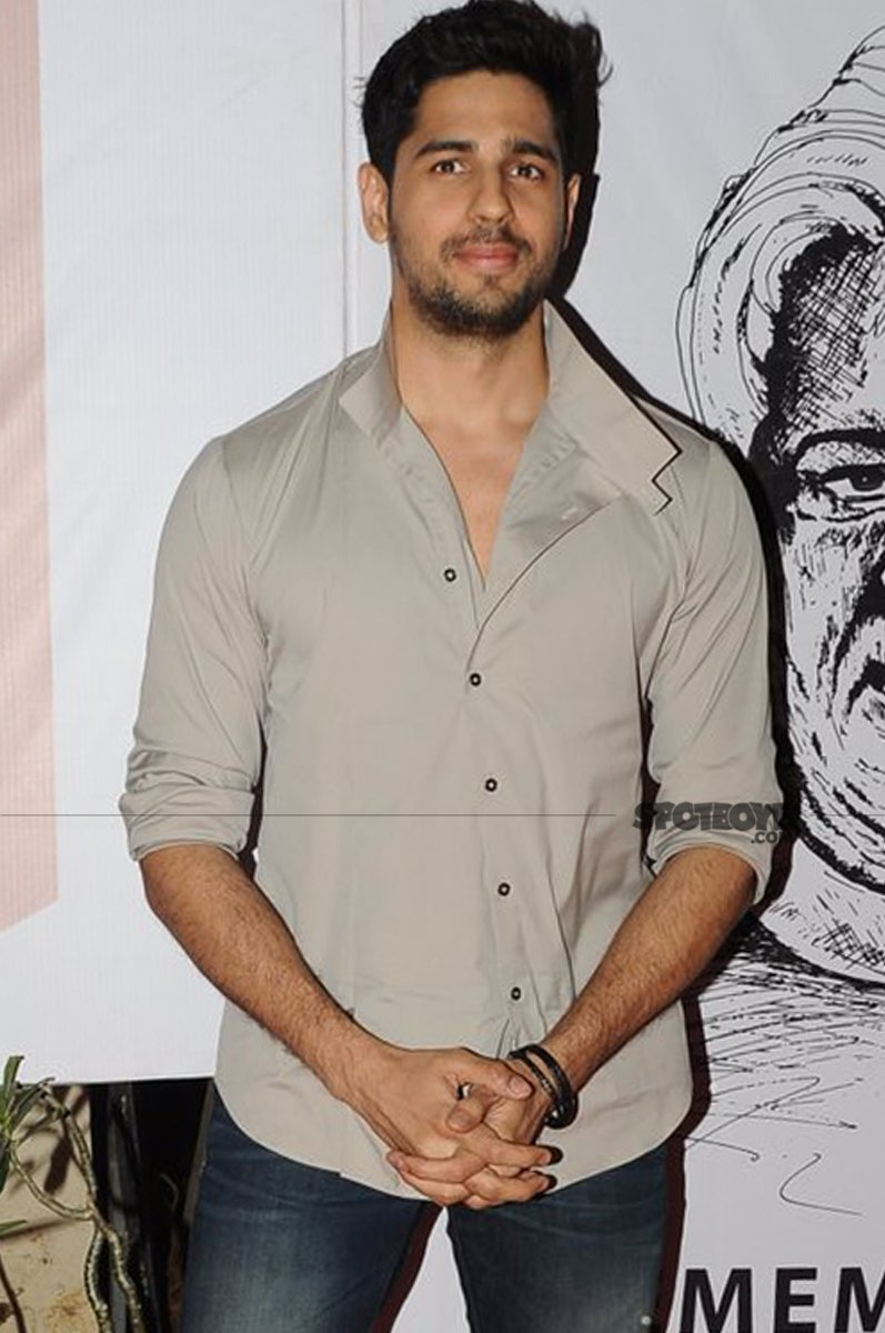 sidharth malhotra apologises for his coment