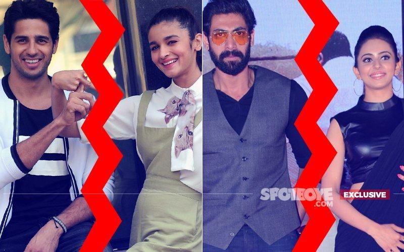 Sidharth Malhotra & Rakul Preet Singh: WE ARE SINGLE (BREAK-UP Rumours With Alia Bhatt & Rana Dagubatti CONFIRMED)