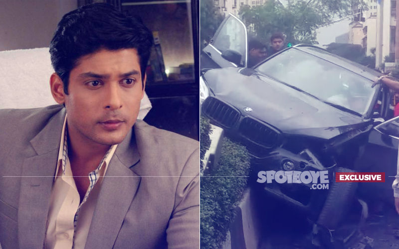 TV Actor Sidharth Shukla Involved In A Major Road Accident