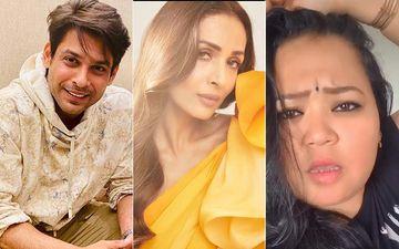 When Sidharth Shukla Gave A Flying Kiss To Malaika Arora Leaving Bharti Singh Shocked – Pic Inside