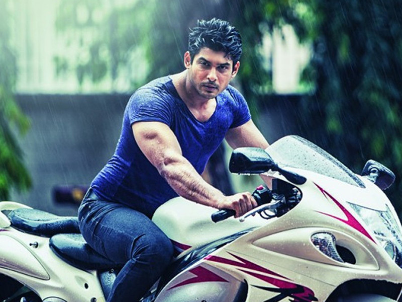 sidharth shukla poses for a photo shoot