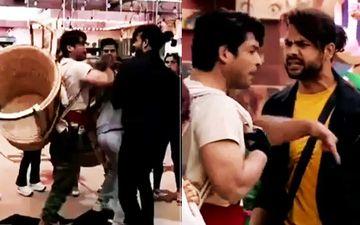 Bigg Boss 13: Sidharth Shukla Shoves Vishal Aditya Singh, Yells 'Chor Hai Tu, Sirf Chori Kar Sakta Hai'