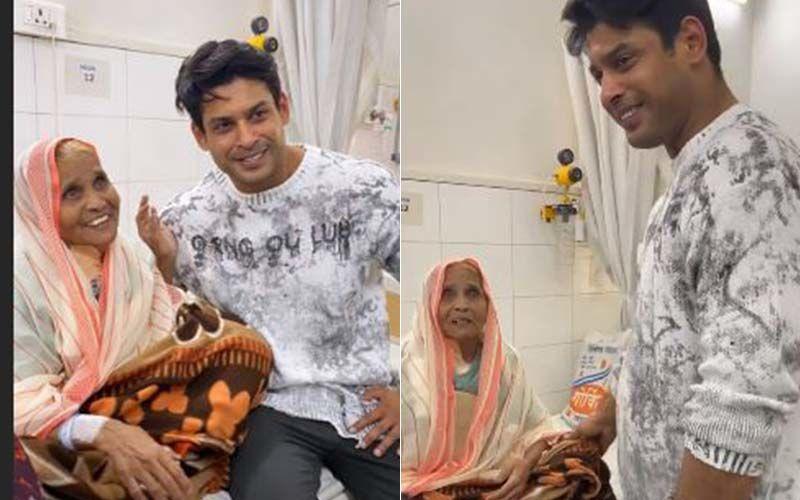 Bigg Boss 13 Winner Sidharth Shukla Meets An Elderly Patient, Fans Call Him 'Man With Golden Heart' - VIDEO