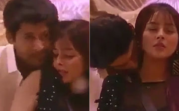 Bigg Boss 13: Sidharth Shukla-Shehnaaz Gill Seal 2019 With A Kiss And Dance; Perform To 'Chashni', Especially For Salman