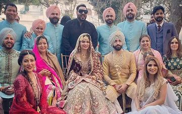 Simran Kaur Mundi Gets Married To Gurdas Maan's Son Gurickk Maan In A Lavish Ceremony; Wishes Pour In