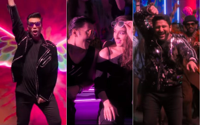 Simmba Song Aankh Marey: Sara Ali Khan-Ranveer Singh's Sexy Moves, KJo's 'OMG' Moment With 'Original' Tadka!