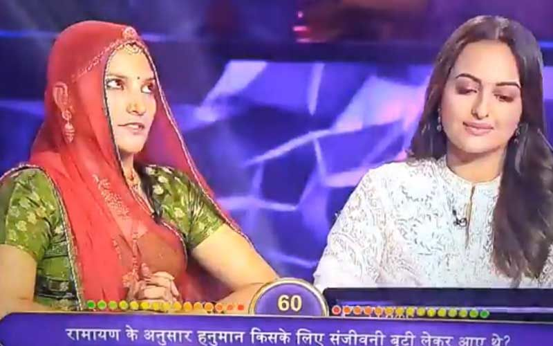 Kaun Banega Crorepati 11: Netizens Trend #YoSonakshiSoDumb As Sonakshi Sinha Fails To Answer A Ramayana Question