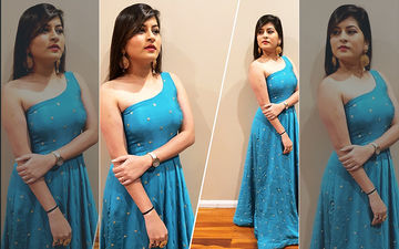 Singer Savaniee Ravindra's Hot New Look In This Off Shoulder Gown Is Setting A New Trend