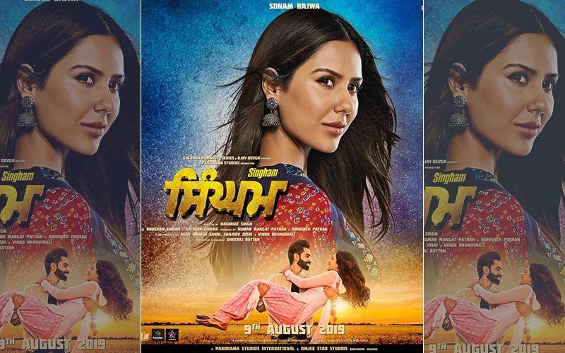 'Singham' New Poster: Sonam Bajwa Looks Ravishing As Nikki