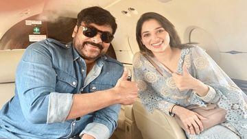 Sye Raa Narasimha Reddy: Megastar Chiranjeevi And Actress Tamannaah Visit Chennai For Promotions