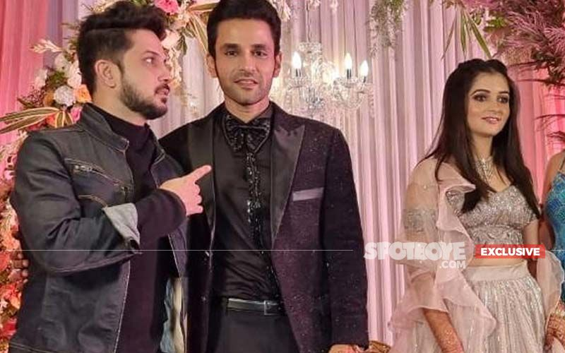 Mudassar Khan Attends Sidharrth Sipani And Anisha's Ring Ceremony In Delhi- EXCLUSIVE PICTURES