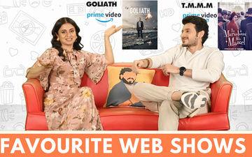 जस्ट बिंज: मिर्जापुर स्टार्स दिव्येंदु शर्मा और रसिका दुगल ने अपने फेवरेट वेब शोज को लेकर किया खुलासा