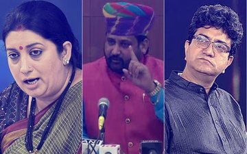 Karni Sena DEMANDS Prasoon Joshi & Smriti Irani's RESIGNATION, Says 'Will BURN Their Effigies'