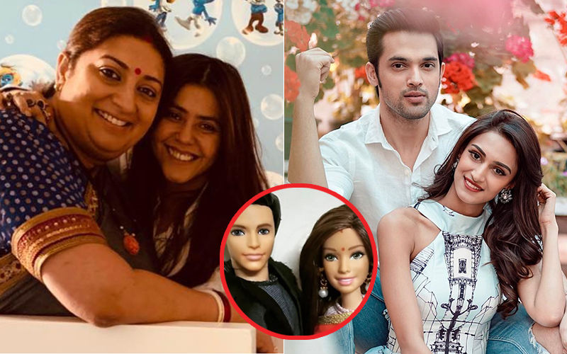 Smriti Irani Comments On Parth Samthaan-Erica Fernandes Dolls And Ekta Kapoor Shoots Back An Epic Reply!