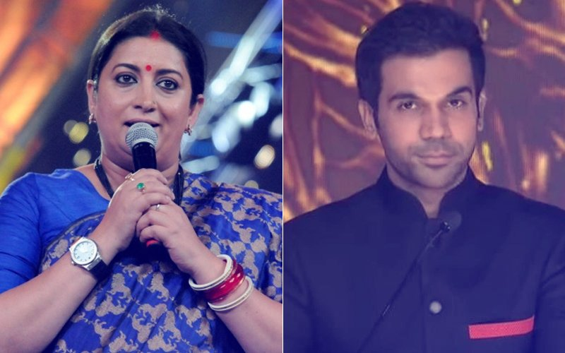 Smriti Irani's Witty Take On Rajkummar Rao's Broken Leg