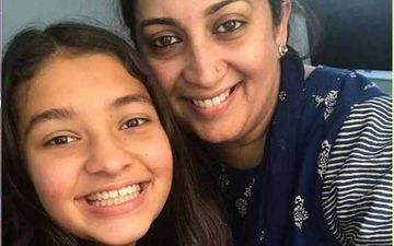 "Smriti Irani Shuts Down An ""Idiot Bully"" Who Targeted Her Daughter: ""Zoish Will Fight Back"""