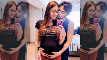 Heavily Pregnant Smriti Khanna Shares A Love Note For Hubby On His Birthday, 'Sorry The Gift Is Late, Will Arrive Anytime Now'