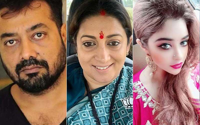 Smriti Irani Reacts To Payal Ghosh's Sexual Harassment Accusations Against Anurag Kashyap
