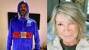 Snoop Dogg's Homemade Pizza Fails To Impress Martha Stewart; Lady Jokes, 'Looks Like Your First'