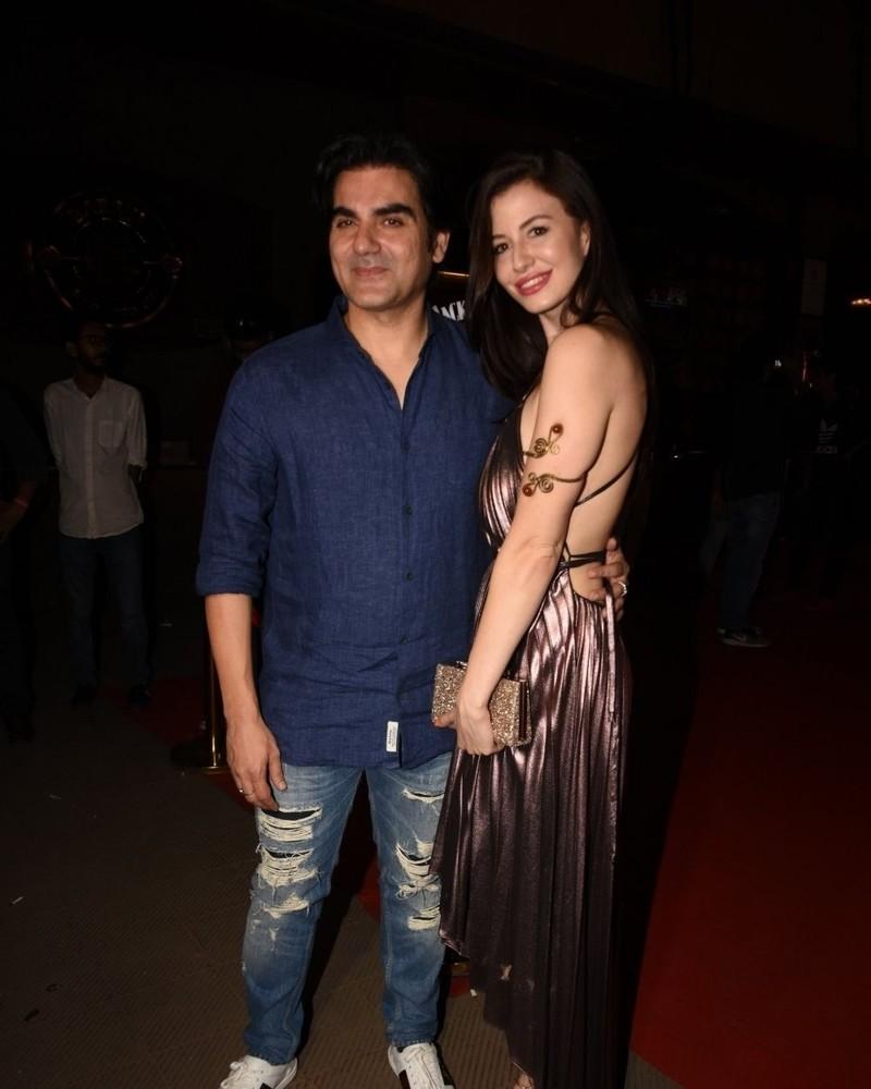 Arbaaz Khan With Girlfriend Giorgia Andriani