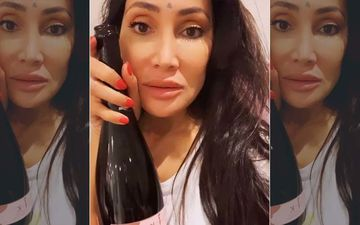 Ex-BB Contestant Sofia Hayat Drives Away Self-Quarantine Blues; Calls Organic Vegan Wine Her 'Saviour'-WATCH