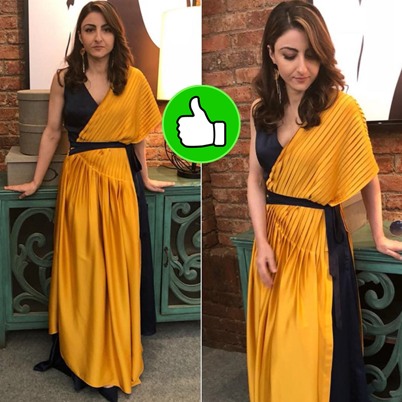 soha ali khan poses for a photo