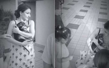 Soha Ali Khan Welcomes A New Member Into Their Kemmu Family; Actress Pens A Pawwdorable Wish As She Adopts A Dog – WATCH