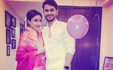 Soha Ali Khan Is Glowing In Traditional Avatar With Husband Kunal Kemmu