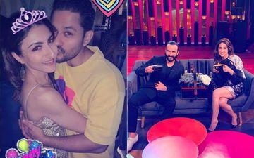 Soha Celebrates 40TH Birthday; Saif Sips Coffee With Daughter, Sara: Pataudi Siblings' Candid Pics