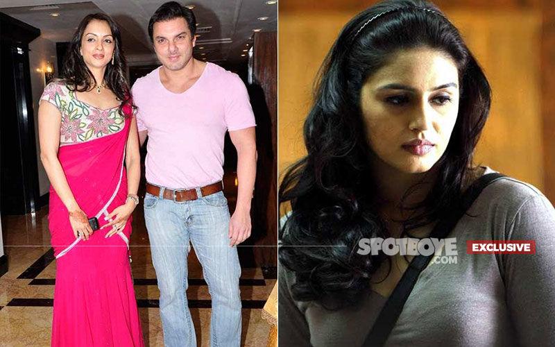 Sohail-Seema Khan Ignore Actor's Alleged Ex-Girlfriend, Huma Qureshi At SOTY 2 Screening