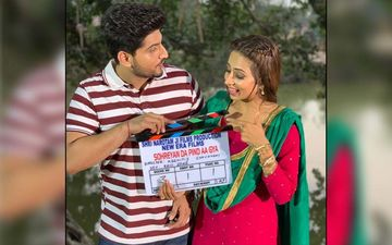 It's A Wrap For Sargun Mehta And Gurnam Bhullar's Romantic Thriller Sohreyan Da Pind Aa Gya