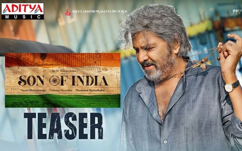 Son of India Teaser OUT: Actor Suriya Unveils Mohan Babu's Next A Political Action Drama
