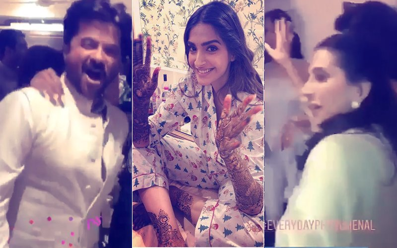 Video: Anil & Sunita Kapoor Dance Their Hearts Out On Daughter Sonam's Mehendi Celebration