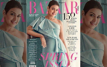 Sonali Bendre As Harper's Bazaar India Cover Girl Is Elegance Personified!