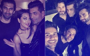 Exes, ANTI-LOVE Slogans & NO FAKE SINGLES – Highlights Of Karan Johar's Valentine's Day Bash!
