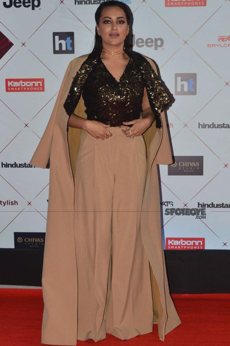 sonakshi sinha at ht most stylish awards