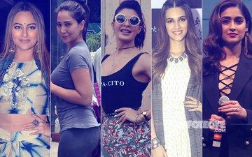 STUNNER OR BUMMER: Sonakshi Sinha, Kim Sharma, Jacqueline Fernandez, Kriti Sanon Or Ileana D'Cruz?