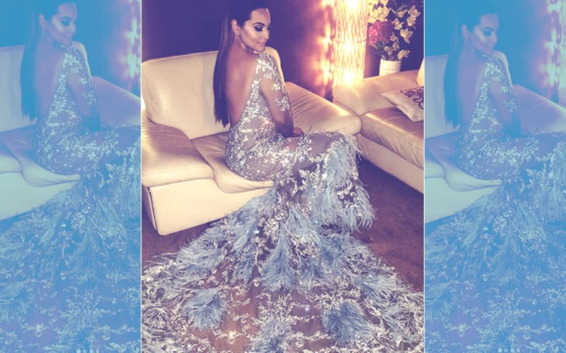 Sexy Saturday: Sonakshi Sinha Looks Super Glamorous In A Backless Gown