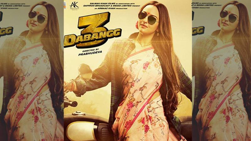 Dabangg 3 New Poster: Salman Khan AKA Chulbul Pandey Introduces His 'Super Sexy Wife' Rajjo Sonakshi Sinha