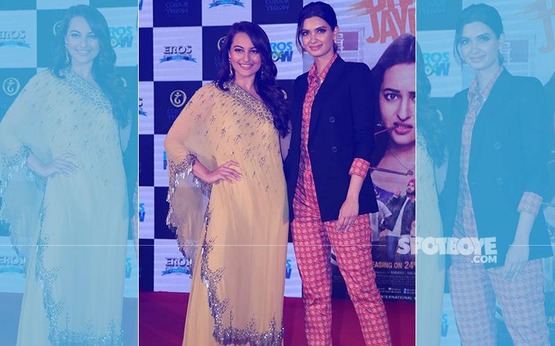 Happy Phirr Bhag Jayegi Trailer Launch: Sonakshi Sinha & Diana Penty Up The Glam Quotient
