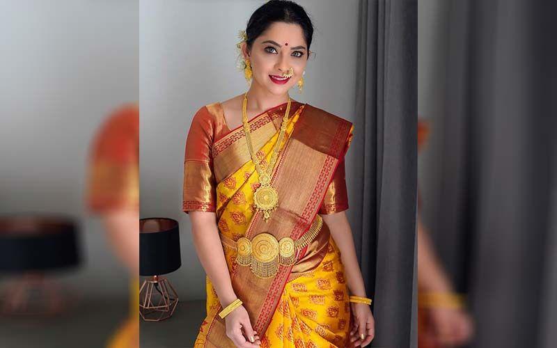 Sonalee Kulkarni Flaunts Her Saree Collection On Social Media