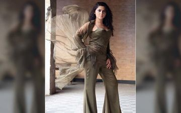 Sonalee Kulkarni Is Raising The Bar For Contemporary Fashion In An Olive Green Jumpsuit
