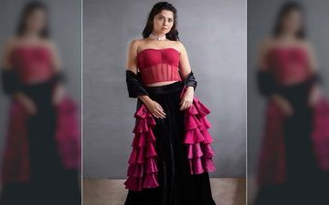 'Dhurala' Star Sonalee Kulkarni Looks Luscious In A Sheer Corset Blouse On This Week's Yuva Dancing Queen