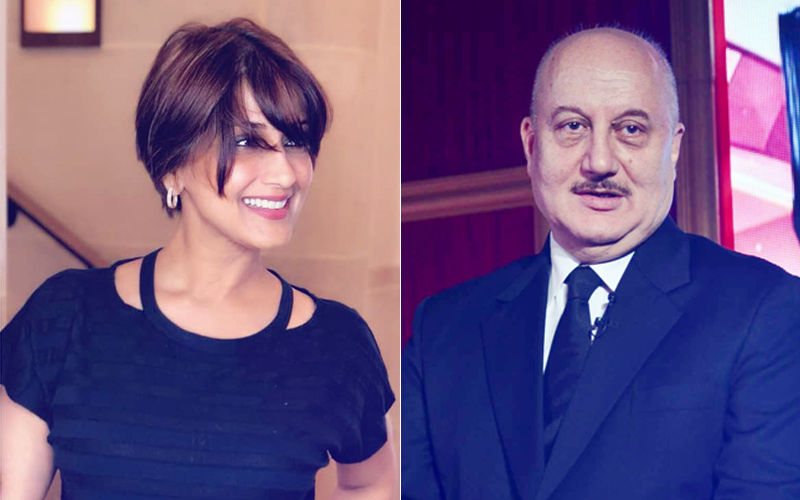 "Sonali Bendre Is ""My Hero"", Says Anupam Kher After Meeting Her In New York"