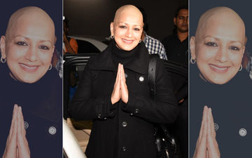 Sonali Bendre Returns To India With A Big Smile