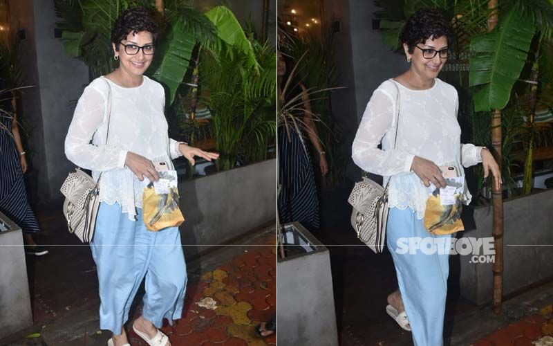 Sonali Bendre Snapped In Juhu; Actress Keeps It Comfy With Her Outfit