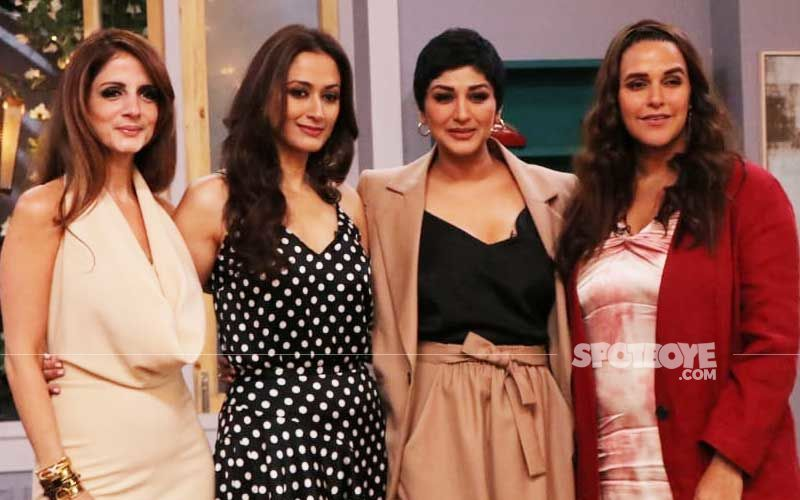 Sonali Bendre Shoots For Vogue BFFs Season 3 With Sussanne Khan And Gayatri Joshi Oberoi- View Pics